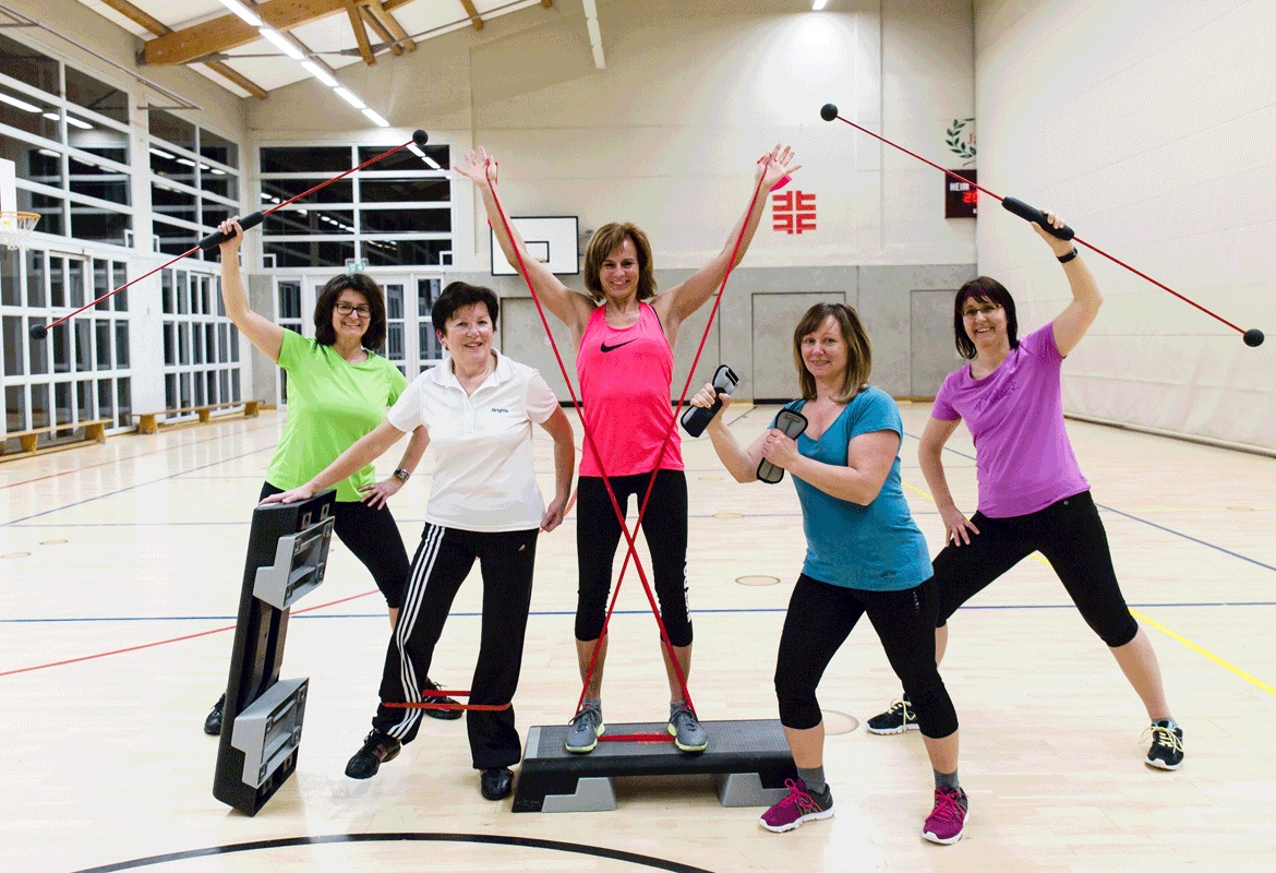 Fit mit STABY, Step & Co